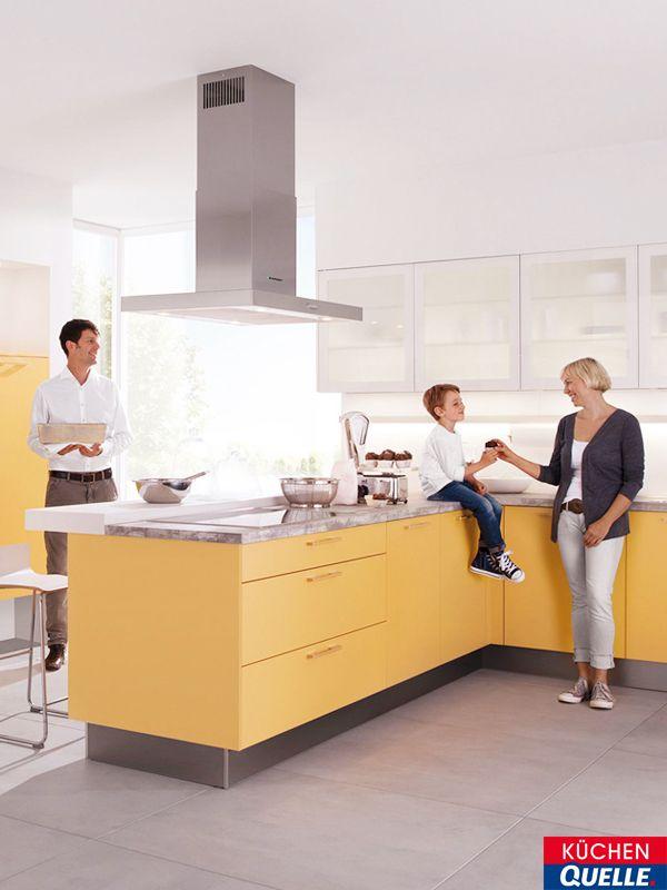 Die Einbauküche Classica 100 Goldgelb ist ein wahres Goldstück: Sie ...