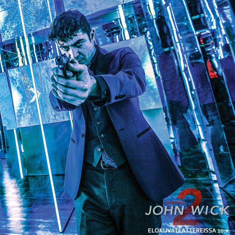 JOHN WICK: CHAPTER 2 elokuvateattereissa nyt   Legendaarinen superpalkkamurhaaja John Wick (Keanu Reeves) on pakotettu palaamaan eläkkeeltä, kun vanha liittolainen suunnittelee kaappaavansa vallan italialaisessa palkkamurhaajien killassa. Verivalan sitomana Johnin on autettava liittolaistaan ja matkustettava Roomaan, jossa hän kohtaa maailman armottomimmat tappajat. @nordiskfilmfinland