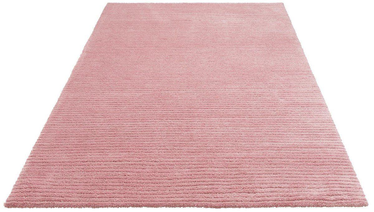 Teppich Dalia Rechteckig Hohe 10 Mm Besonders Weich Durch Microfaser Microfaser Wolle Kaufen