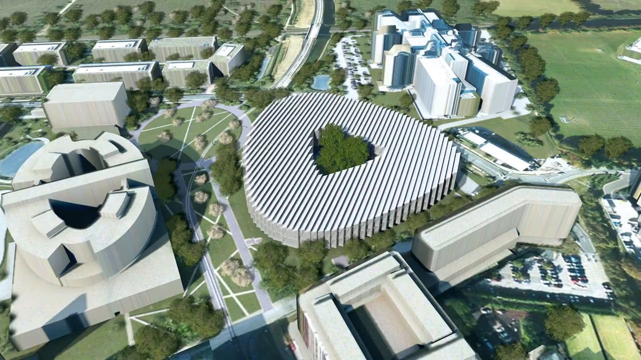 Astrazeneca Uk Headquarters By Herzog De Meuron In 2020 Herzog Architecture Design