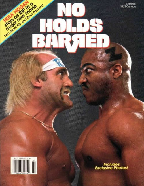 No Holds Barred Terry Bollea Hollywood Hulk Hogan Tommy Tiny