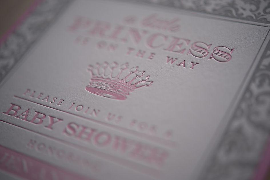 custom baby shower invitation, it\'s a girl baby shower, princess ...