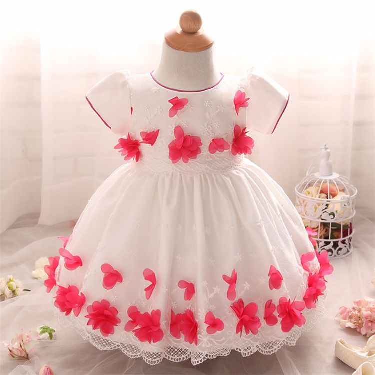 Glowing Top Quality Baby Girl Dress newborn baby girl clothes d195c53a4de9