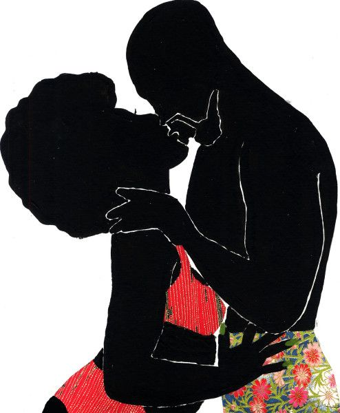 ART PRINTS, JAMILLA OKUBO, LOVE YOU