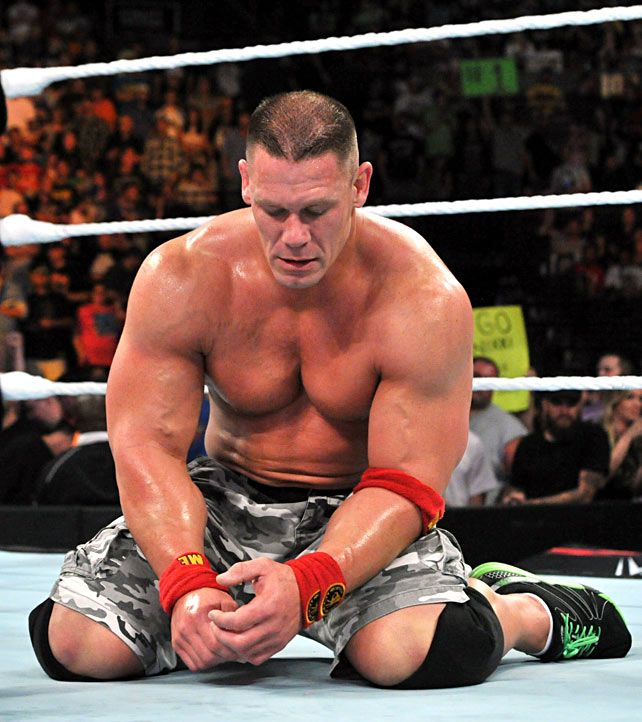 Night of Champions 2014: John Cena vs Brock Lesnar (WWE ...