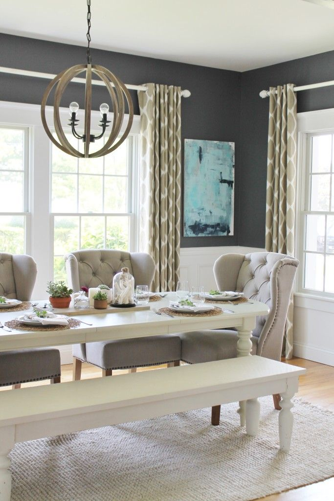 Livable Color Trend For 2016 Surf Turf Gray Dining RoomsDining Room ArtDining