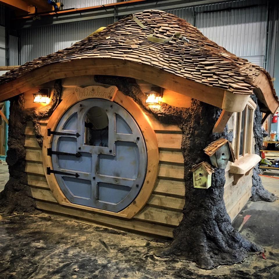 Die Schönsten Gärten Auf Der Welt Swabble: Einfach Genial: Dieser Vater Baut Die Coolsten Spielhäuser
