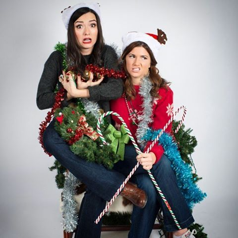 baumanelise OVERWHELMED BY THE UPCOMING HOLIDAYS? Well mosey on over to carmillamovie.vhx.tv to delight your eyeballs with more of these ridiculous photos and videos in a Christmas themed add-on package for your holiday merriment ☃