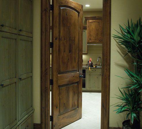 Knotty Alder Door Frame And Trim Interior Doors