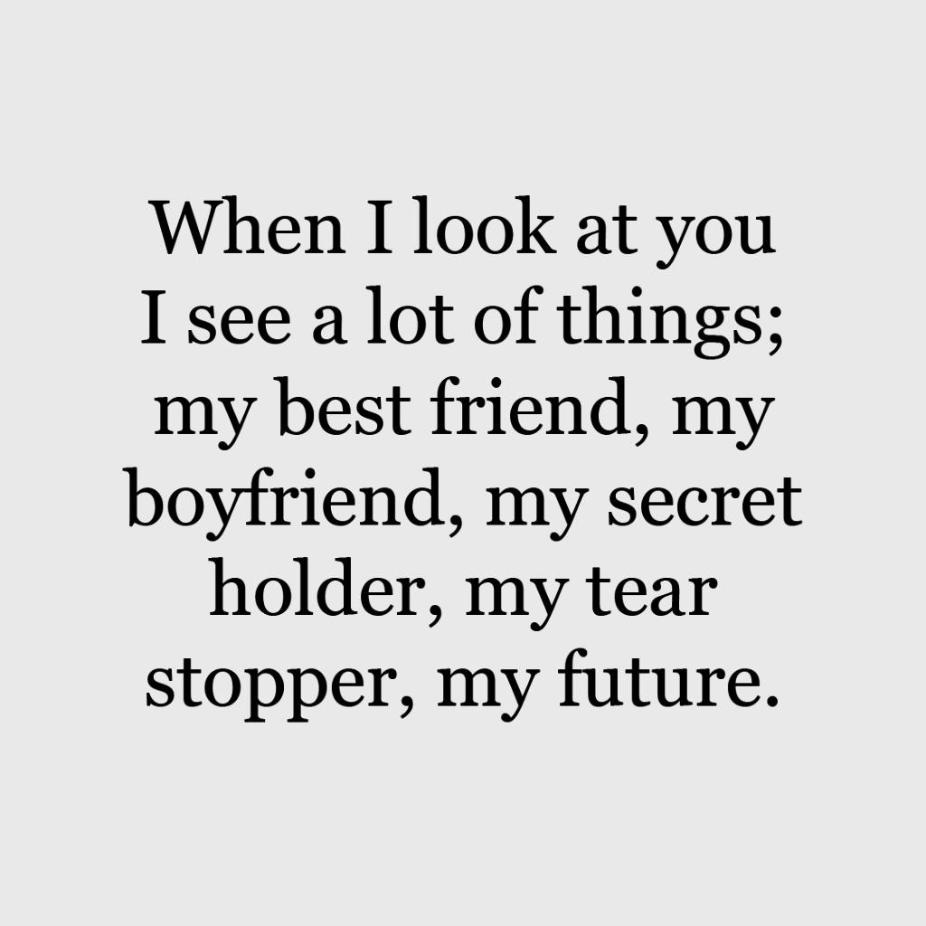 Cute Boyfriend Quotes   Boyfriend quotes funny, Cute boyfriend ...