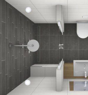 douche kleine badkamer | badkamer idee | Pinterest | Bäder ideen ...