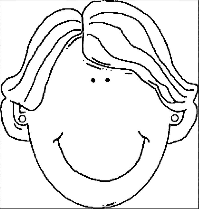 Face Images Coloring Page 06 In 2020 Coloring Pages Coloring Pages For Boys Face Images