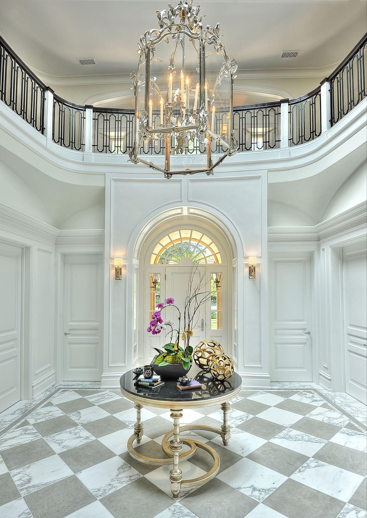 Luxury hallway furniture  harrisondesignportfolioprojectalpinedriveresidence