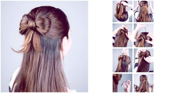 Peinados fáciles y rápidos para chicas con cabello lacio Cabello