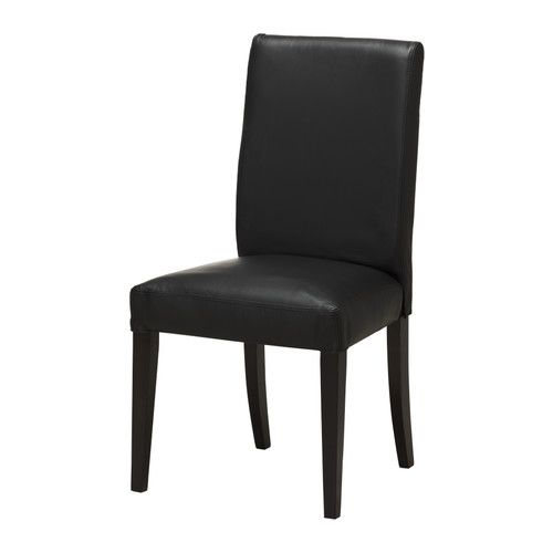 henriksdal chair ikea soft hardwearing and easy care leather which