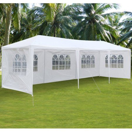Ktaxon 10 X30 Party Wedding Outdoor Patio Tent Canopy Heavy Duty Gazebo Pavilion Event With 5 Wall Walmart Com Patio Tents Canopy Outdoor Canopy Tent