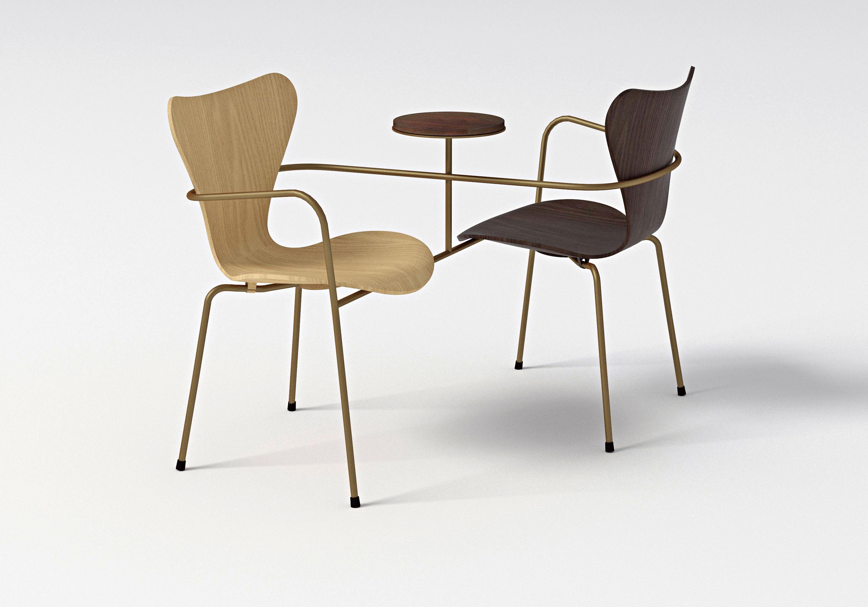 chair design research home depot shower 7 cool architects ǁ designer neri hu office fritz hansen series 3107 by arne jacobsen
