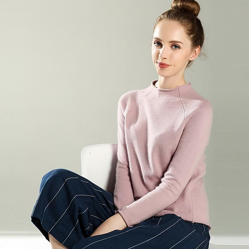 8bd07892c Adohon 2018 womens winter Cashmere sweaters and auntmun women knitted  Pullovers High Quality Warm Female Oneck Solid Casual. Yesterday's price:  US $71.80 ...