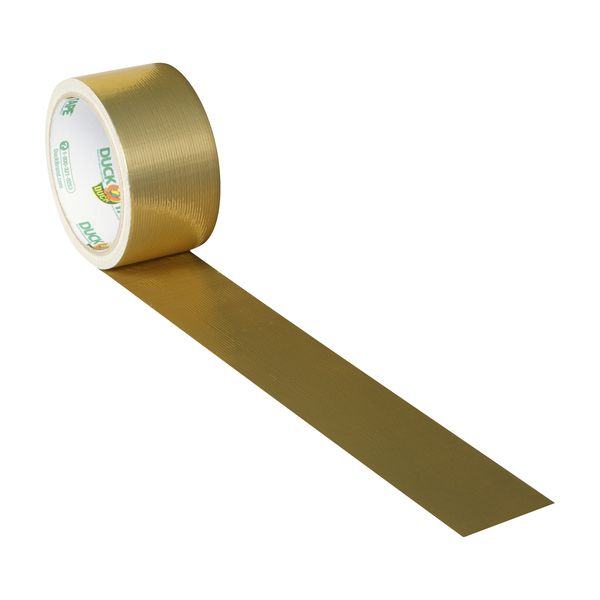 Color Duck Tape® Brand Duct Tape - Gold, 1.88 in. x 10 yd. | Duck® Brand