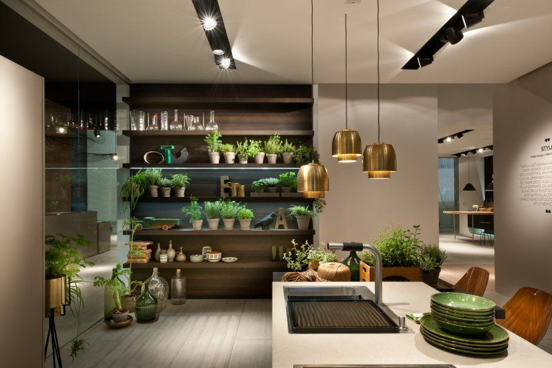 Cuisine design, cuisine haut de gamme, cuisine sur mesure, cuisine - cuisine ouverte ilot central