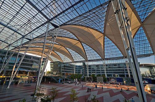 Munich Airport Mit Bildern Munchen Flughafen Munchen Freising