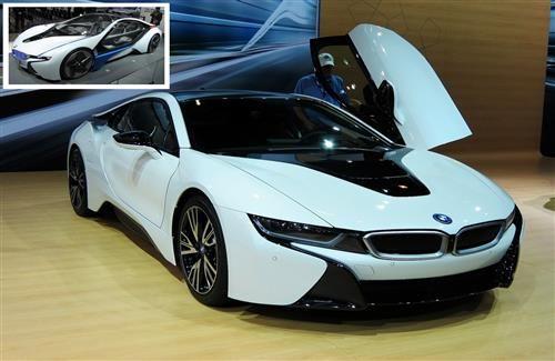 Latest Super Crystal White Bmw I8 Luxury 2 Seater Car Photos Cars