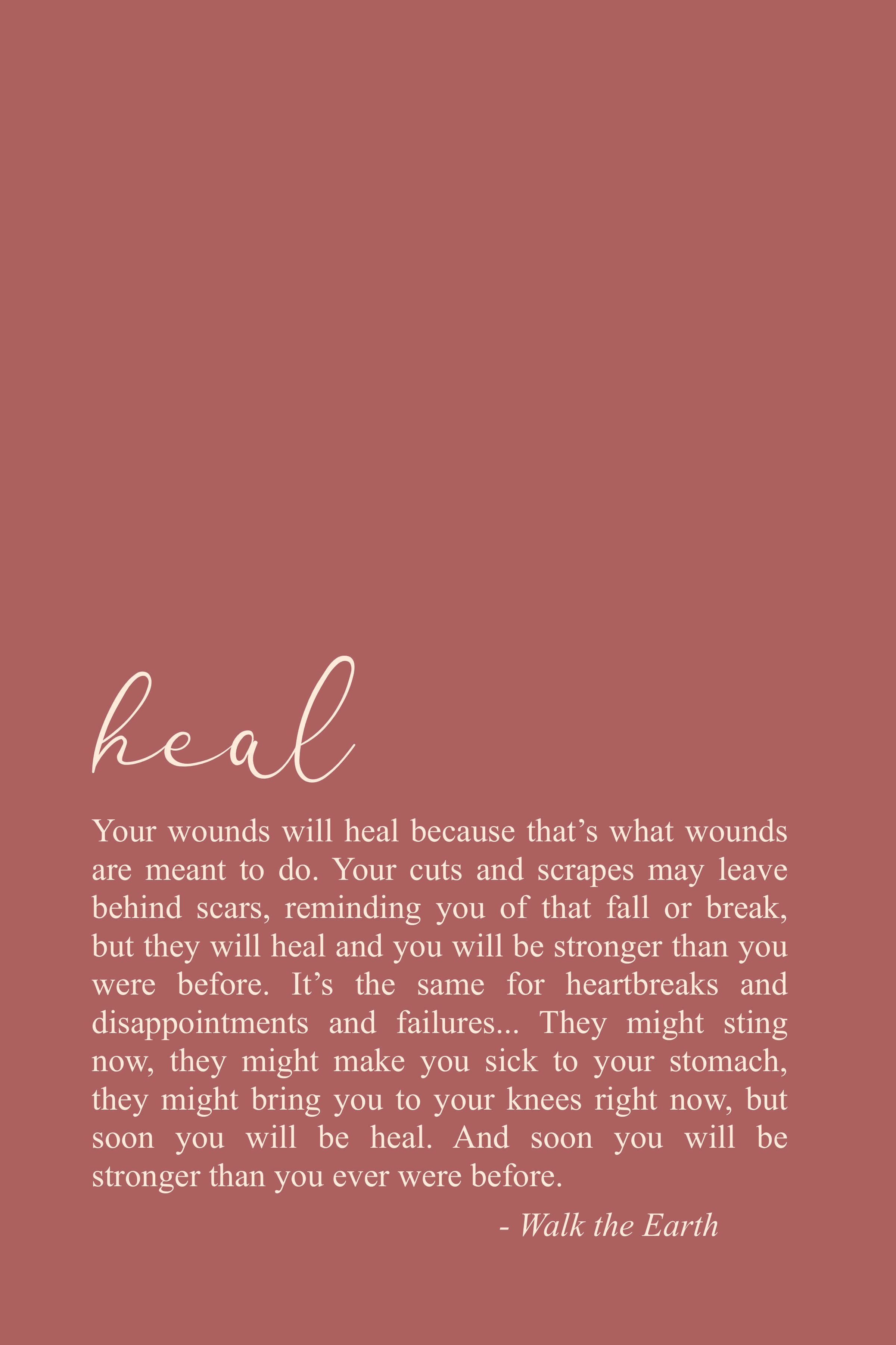 Inspirational Healing Quotes & Poetry Selbstliebe   – Encouragement Quotes – Inspirational Words & Poems