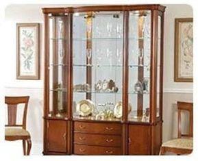 Resultado de imagen para vitrinas de madera modernas para comedor ...
