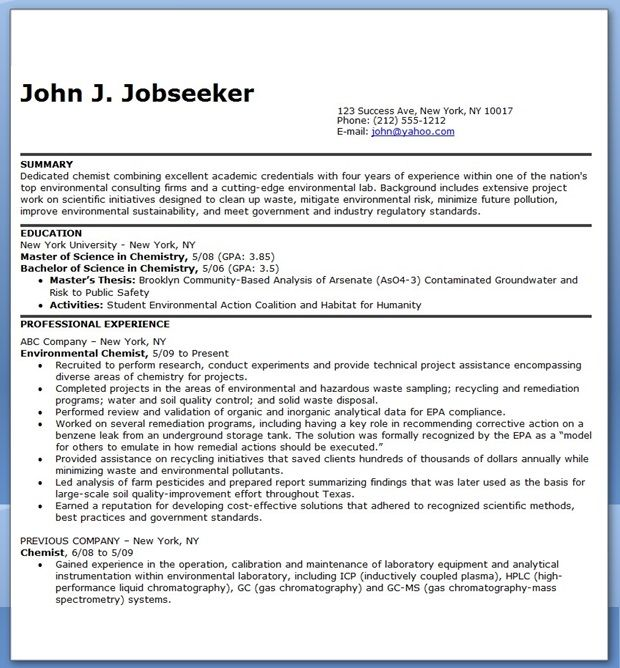 Clinical Research Associate Resume Sample One