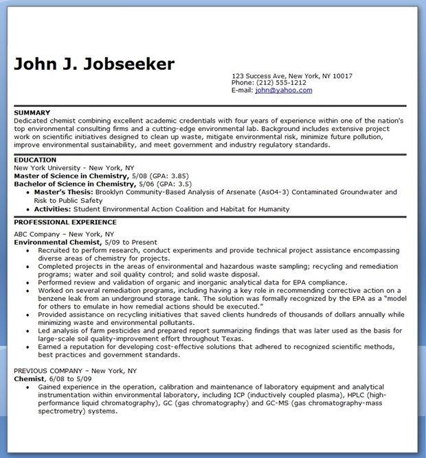 Chemist Resume Examples Resume Downloads Resume Examples Professional Resume Examples Resume