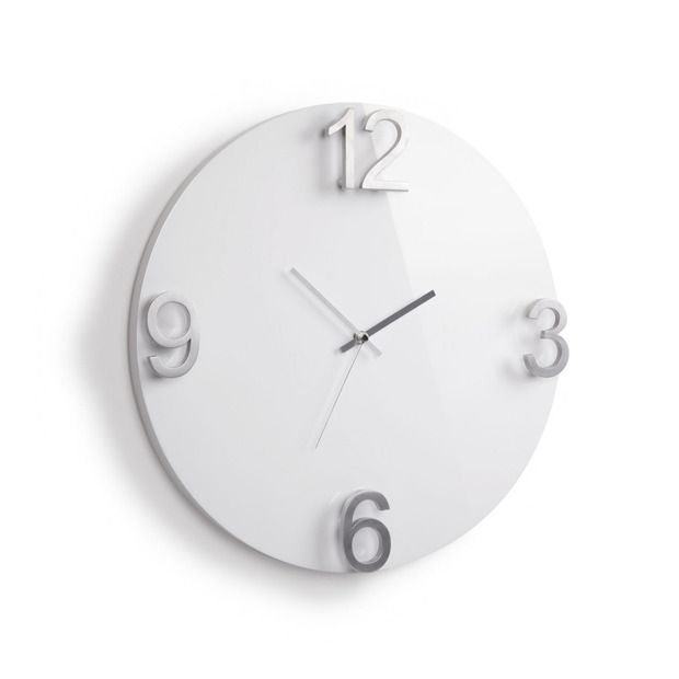 Furniture And Decor For The Modern Lifestyle With Images White Wall Clocks Wall Clock Clock