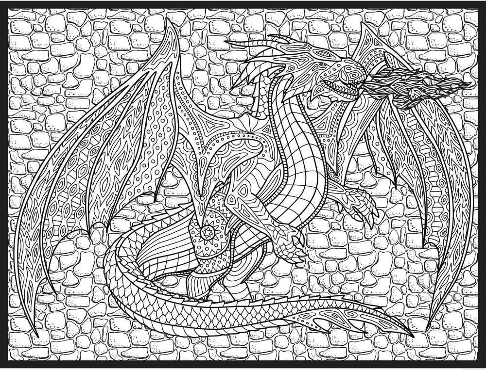 Super Huge 48 X 63 Coloring Poster Coloring Posters Coloring Books Coloring Pages