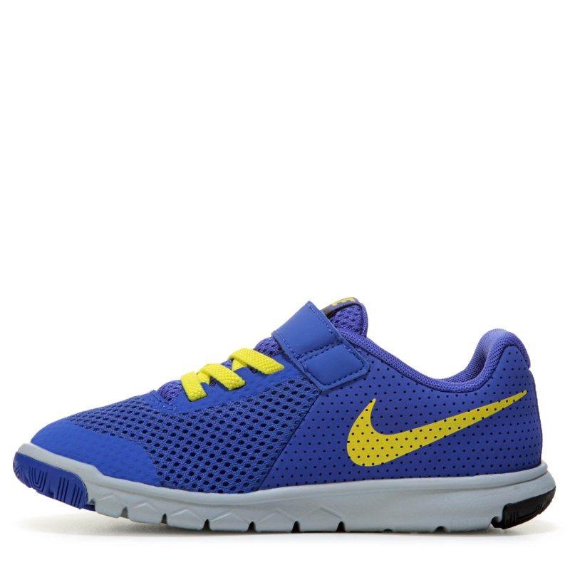 Nike Kids' Flex Experience 5 Running Shoe Preschool Shoes (Paramount Blue/ Elect)