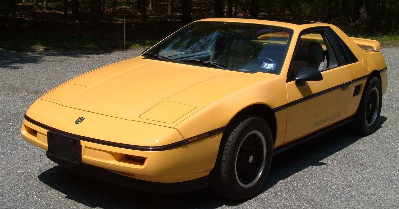 1988 Pontiac Fiero Formula picture, exterior