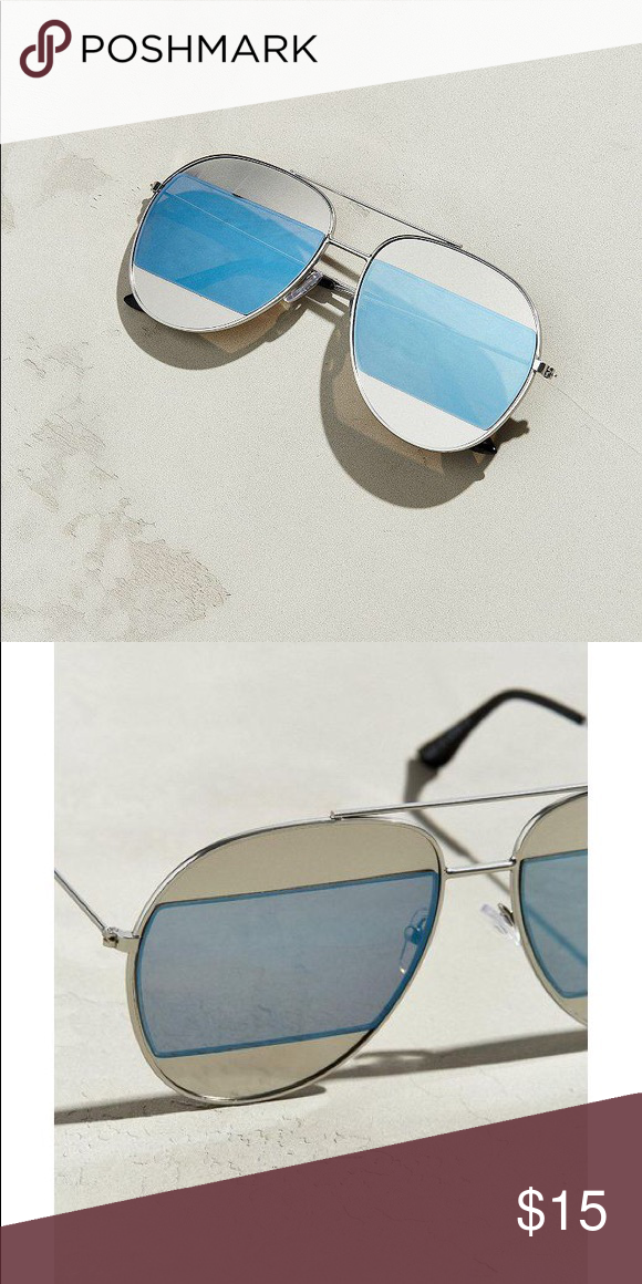 b5023bb06caf Urban Outfitter Block aviator sunglasses Urban Outfitter Unisex sunglasses.  Similar to Dior sunglasses. Brand new
