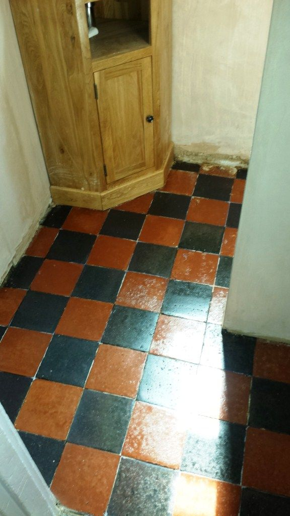 Deep Cleaning Quarry Tiles In Bedford After Interiors Cottage