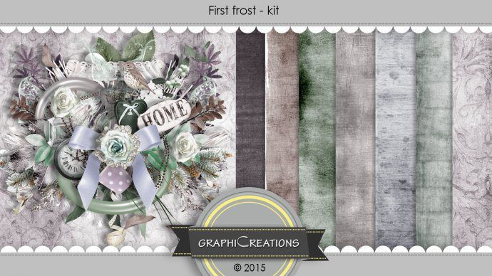 minikit First Frost by GraphiCreations http://scrapbird.com/graphic-creations-m-225.html
