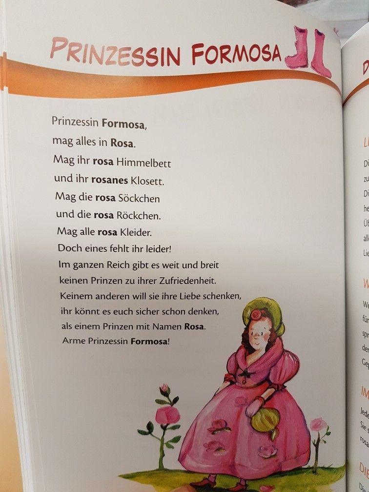 Prinzessin Formosa #farben #kita #kindergarten #erzieher #reim ...
