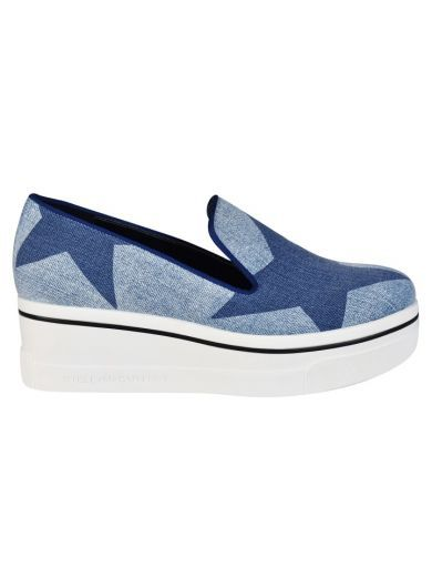 STELLA MCCARTNEY Stella Mccartney Star Binx Platform Slip-On Sneakers. #stellamccartney #shoes #https: