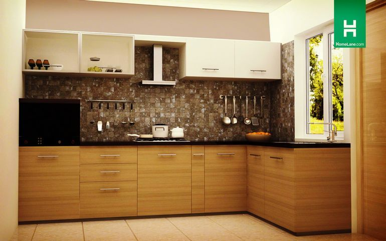 Buy Robin Picturesque Lshaped Kitchen Online Best Price Beauteous Cupboard Designs For Kitchen In India Design Decoration