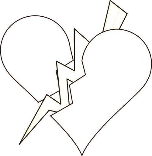 Pin By Brandy On Broken Heart Valentine Coloring Pages Heart Coloring Pages Love Coloring Pages