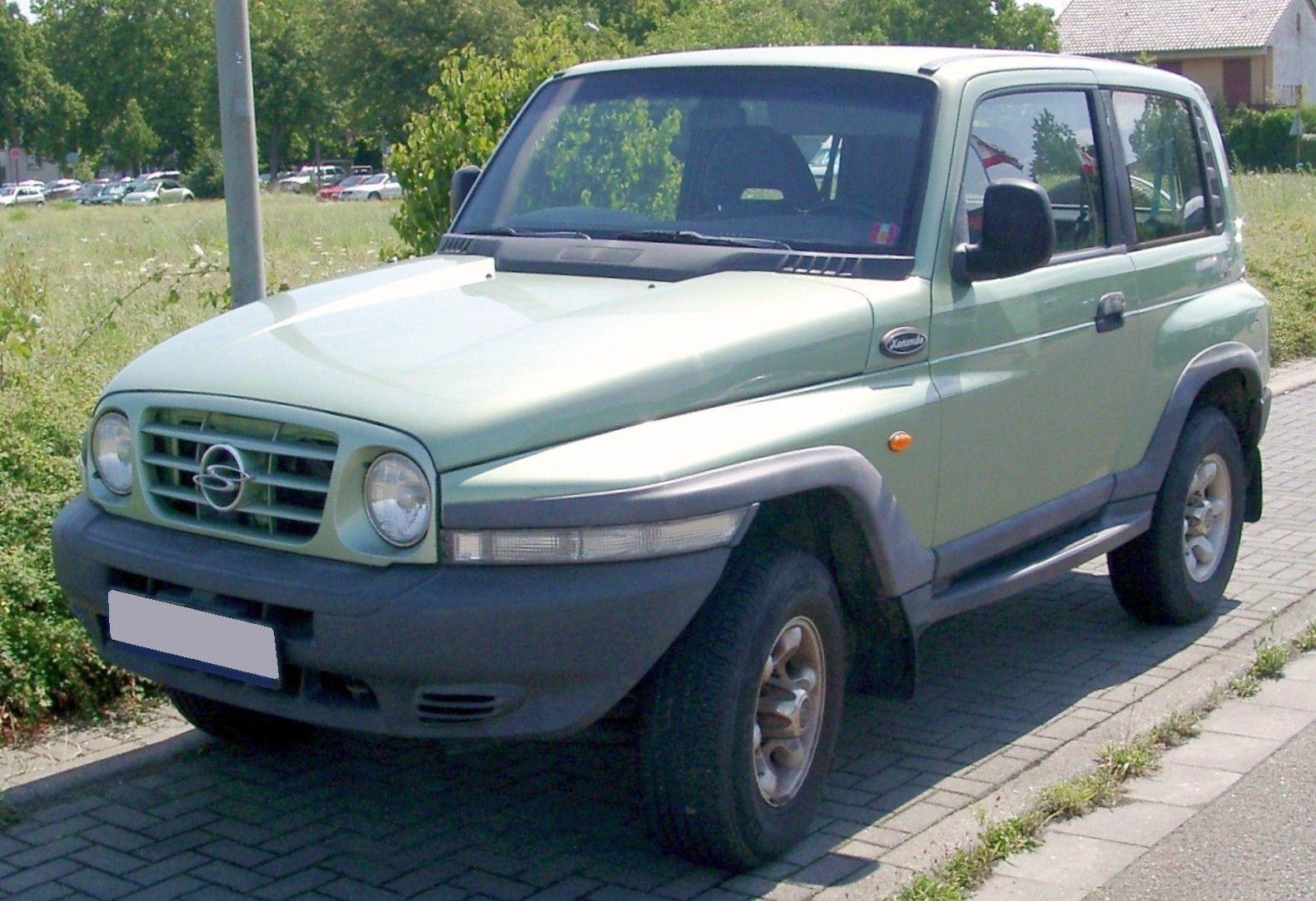 Ssang Yong Korando Jeep Korea