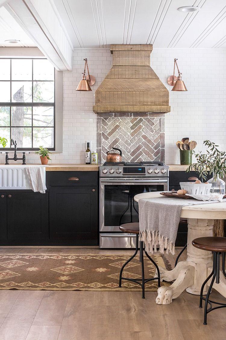 The kitchen cottage house flip reveal neutral kitchens and the kitchen cottage house flip reveal matte subway tile backsplashkitchens dailygadgetfo Images