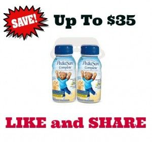 picture relating to Pediasure Printable Coupon named pediasure discount coupons for Canada - Ordinarily all printable