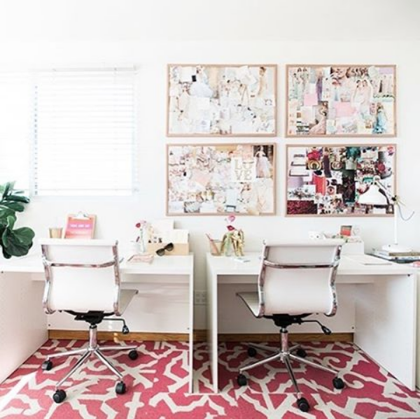 How To Use A Vision Board To Stay On Top Of Your Goals Office Inspiration Home Home Accessories