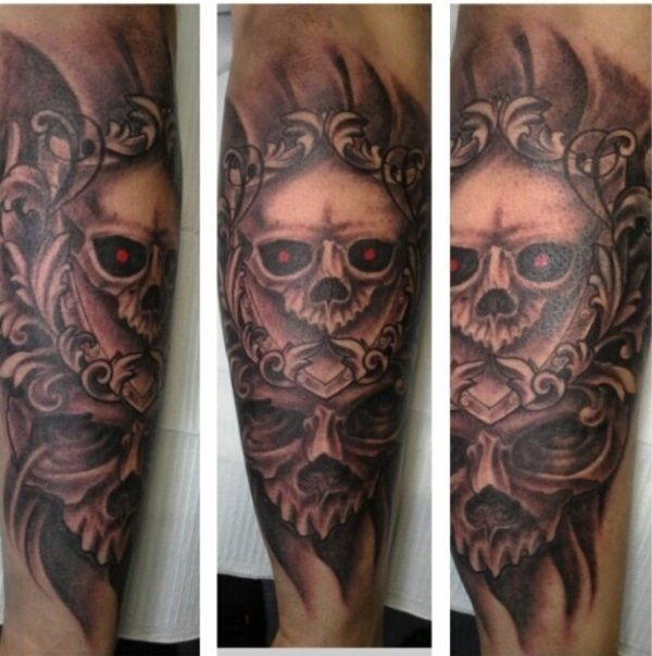 in some heavy metal tattoo designs you can even see some