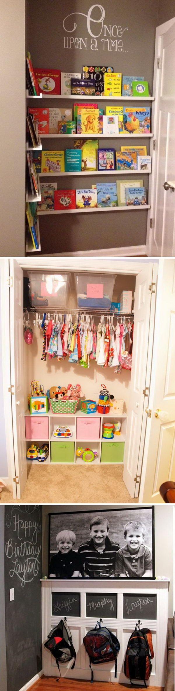 Creative Storage Ideas To Organize Kids Room