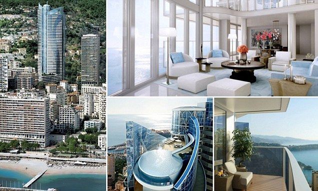 Room with a view inside the worlds most expensive apartment in monaco