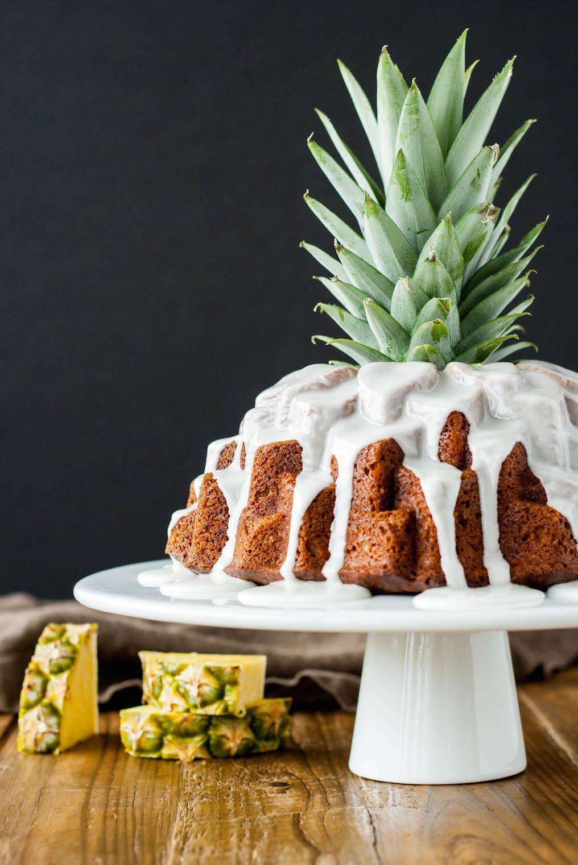 gateau d'anniversaire, gateau de fête : Aloha Bundt cake