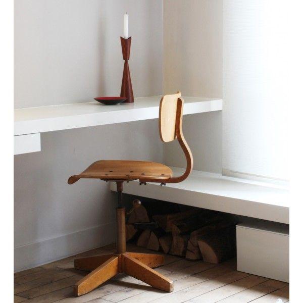Chaise de bureau vintage chez wwwmiaowdesignfr CHAISE